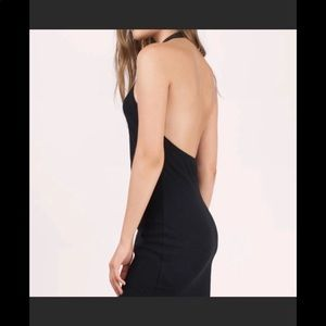 NWT Tobi keep calling black bodycon dress